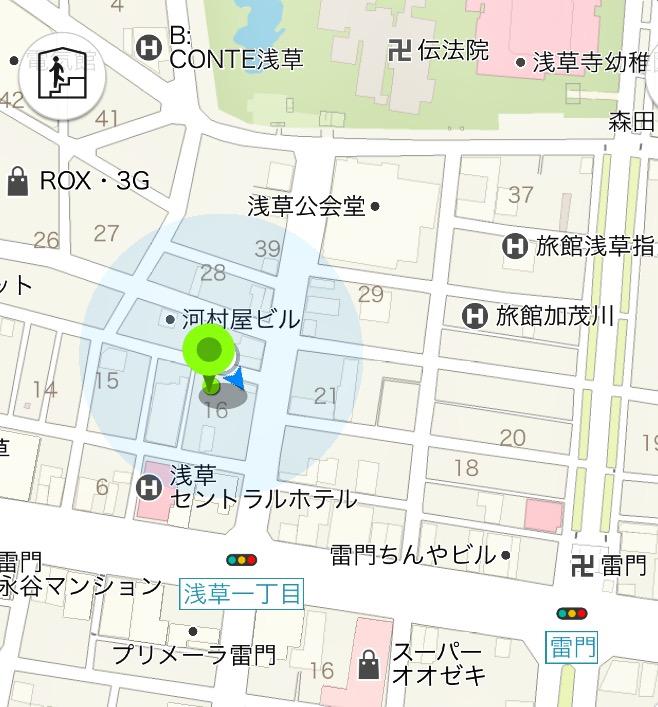 浅草本店地図